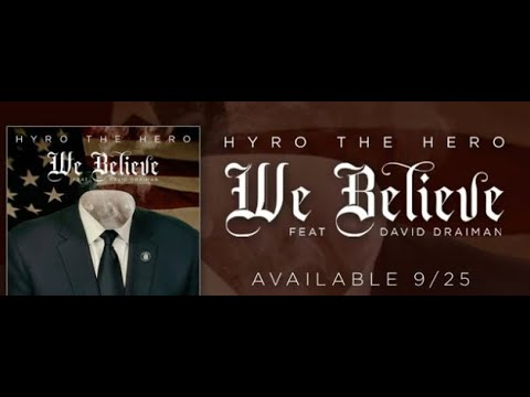 "Hyro The Hero to release new song ""We Believe"" feat. Disturbed's David Draiman."