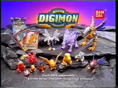 Digimon Digital monsters ! toys ! by Bandi !