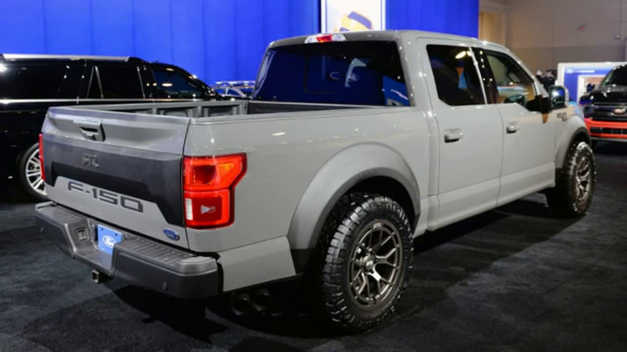 WoW!!2018 Ford F 150 RTR Muscle Truck Concept SEMA SHOW