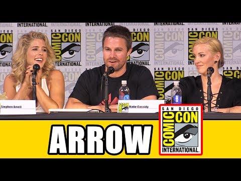 ARROW Comic Con Panel  Season 6,  & Highlights