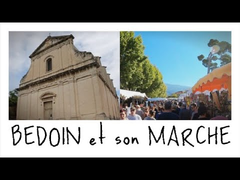VISITE Du MARCHE De BEDOIN Et Du Village GoPro Hero 6