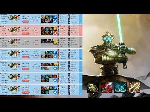 Diamond 2 Crit Master Yi Gameplay (League Of Legends)