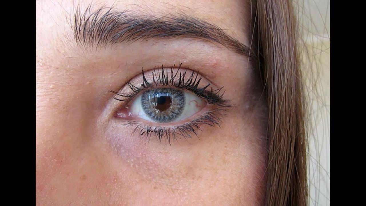 Magic Top Cinza Contact Lens Youtube