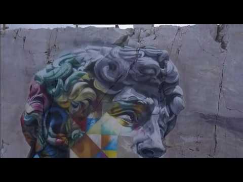 Eduardo Kobra acaba de inaugurar mais um mural no exterior