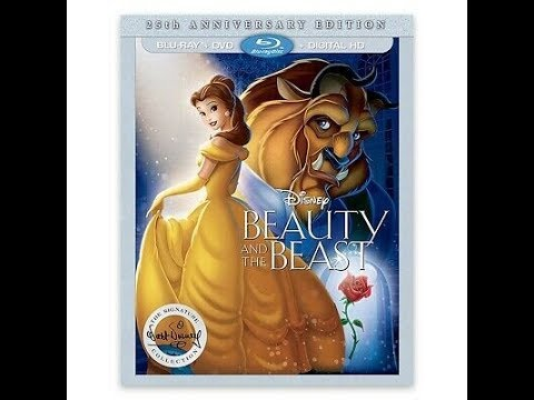 Opening To Beauty & The Beast 2016 Blu-Ray