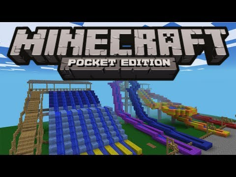 AMAZING WATER PARK! - Minecraft Pocket Edition