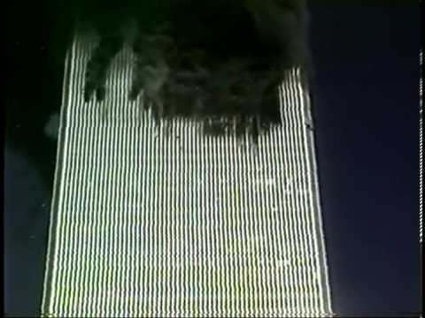 Raw 911 Video Hotel Room View of WTC
