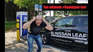 Nissan Leaf 2018 #Rapidgate #Munich - Rapidcharging test
