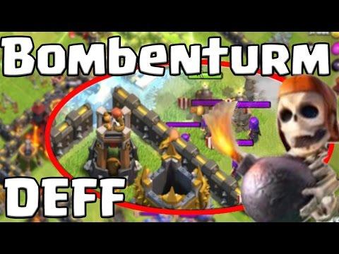 Bombenturm DEFF Nach Update  [Clash Of Clans ] DEUTSCH