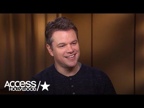 Matt Damon Talks About His Cameo In 'Ocean's Eight'
