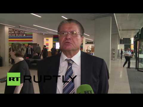 Germany: Ulyukaev says EU food embargo could be lifted if West makes first step