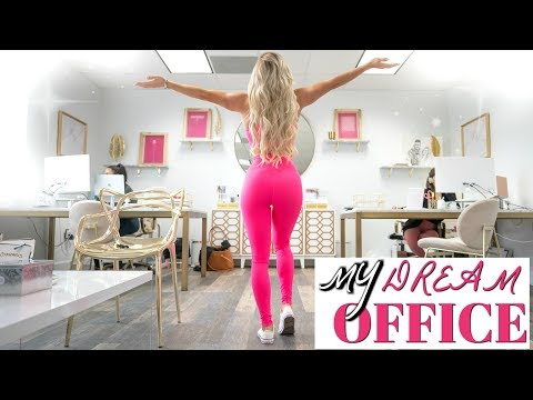 MY DREAM OFFICE TOUR | What I've been hiding thumbnail