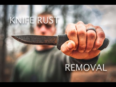 How To - Knife Rust Removal