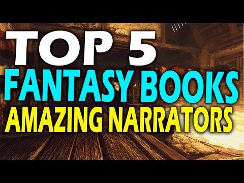 Top 5 Fantasy Audiobooks With Amazing Narrators