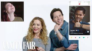 Leslie Mann and Ike Barinholtz Hijack a Stranger's Tinder | Vanity Fair thumbnail