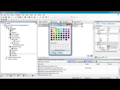 Codesys 3.5 WebVisu & User Access Tutorial