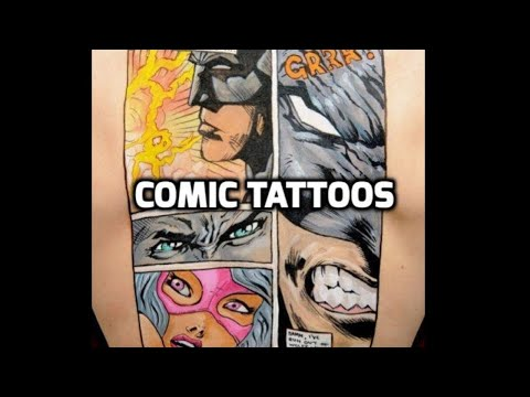 Comic Tattoos: Best Comic Tattoo Designs HD