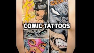 Video Comic Tattoos - Best Comic Tattoo Designs HD download MP3, 3GP, MP4, WEBM, AVI, FLV Juni 2018