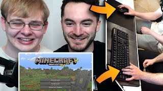 Minecraft But Carson Is On Mouse And I'm On Keyboard