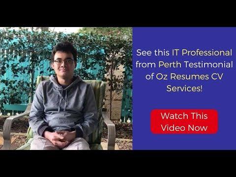 Zhane Testimonial - IT Professional | Resumes Perth | Oz Resumes