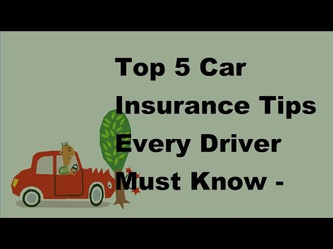 top-5-car-insurance-tips-every-driver-must-know---2017-van-insurance-policies
