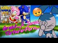 GREAT....A Sonic Torture Porn....Jenny Reacts to Sonic and Tails Play Sonic World (FT. Amy)