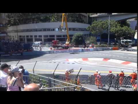 GP F1 Monaco 2013 - Course F1 - Tribune A1