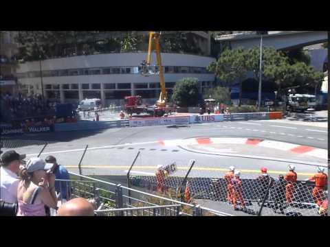 GP F1 Monaco 2013 - Course F1 - Tribune A1