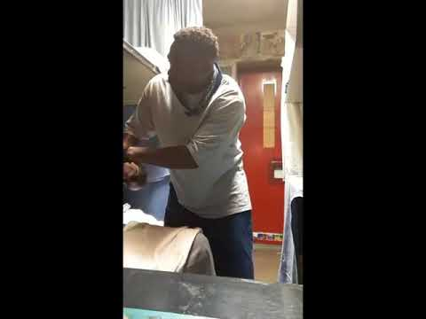 Prison Fight Over Alcohol (Pruno), Homie Spits In The Wine, Bottoms Up