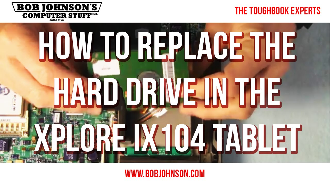 XPLORE iX104c5 Hard Drive SSD CADDY