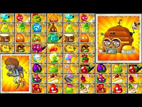 Plants vs Zombies 2 Gameplay Every Plant vs Disco Tron 3000 Mod PVZ 2 Max Level Plants Primal