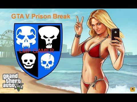 GTA V Prison break Station #3 Crews BBNCTH