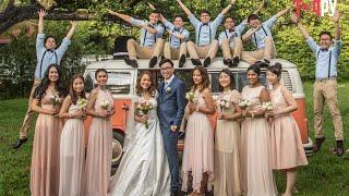 Leong Foo Wen & Haymar | Wedding Reception Highlights