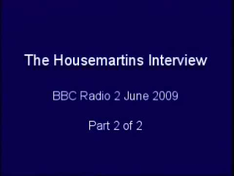 The Housemartins Interview part 2 - 2009
