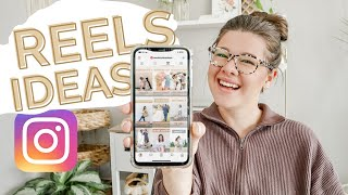 5 INSTAGRAM REELS IDEAS for Small Business Owners & Photographers