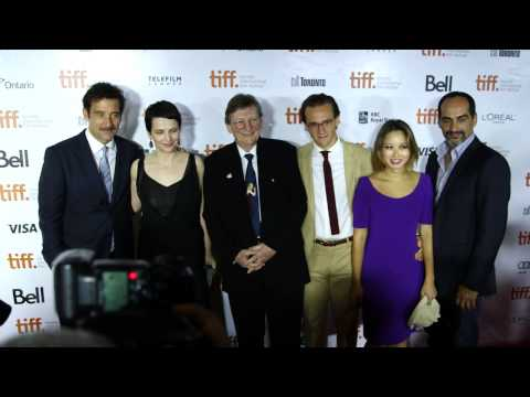 Words And Pictures: Cast On Red Carpet at TIFF