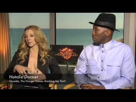 Hunger Games Exclusive with Natalie Dormer & Mahershala Ali Mocking Jay