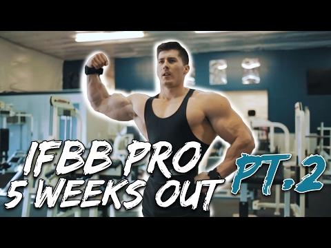 IFBB PRO Nimai Delgado 5 Weeks Out - Pt. 2/2! (VEGAN BODYBUILDER)