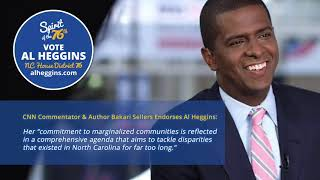 Bakari Sellers Endorses Al Heggins for NC House District 76