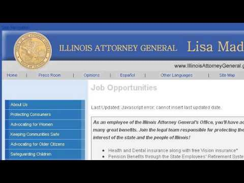 Job Description Of An Attorney General - YouTube