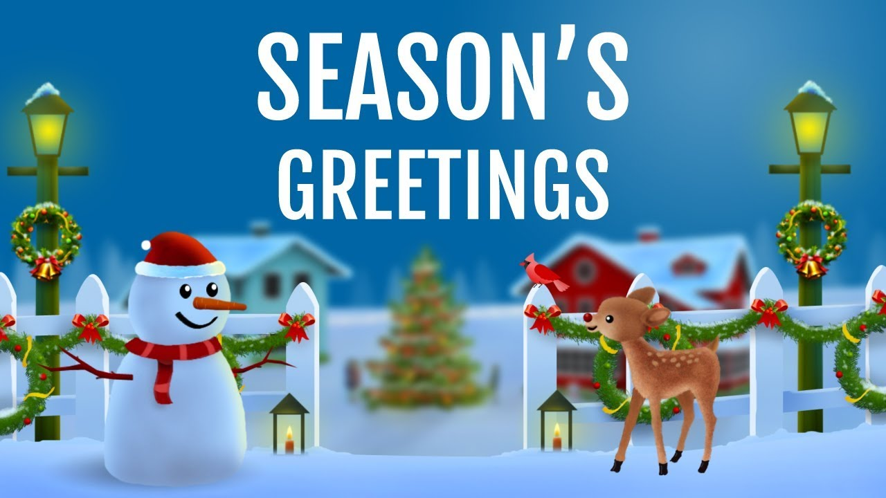 Seasons Greetings Happy Holidays Wishes Greetings Messages