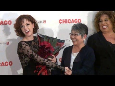 シャーロット、泉ピン子と再会に涙「ありがとう」 ブロードウェイミュージカル『シカゴ』来日公演プレスコール