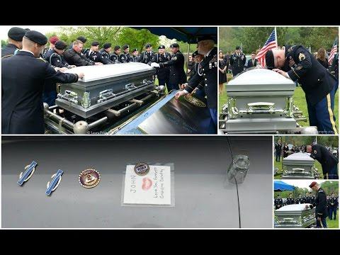 Captain John J Levulis   US Army Celebration of Life May 2015
