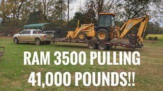 2016 Ram 3500 pulling 41,000 POUNDS!