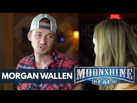 """Morgan Wallen Talks About Being on """"The Voice""""   Moonshine Beach"""