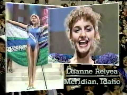 Miss Teen USA 1987 - Opening and Parades of States