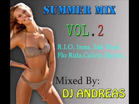 Summer mix vol.2 (Flo Rida,Inna.R.I.O,Sak Noel...) Mixed By:DJ ANDREAS