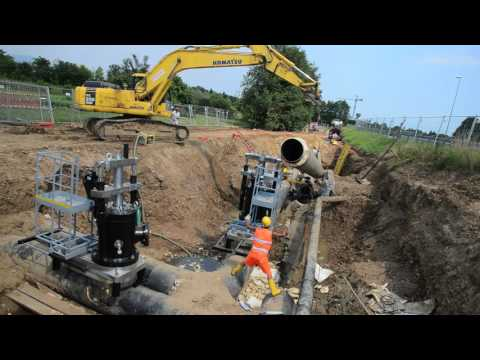 Hot Tapping ND 600 pipeline