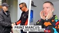 Justin reagiert auf Prinz Marcus trifft Obdachlosen (Teil 1) | Reaktion
