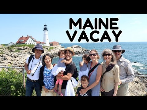 Maine Family Vacation 2018 (Ogunquit, York, Portland, Kennebunk)